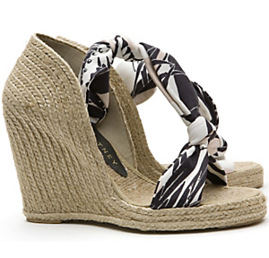 Stella McCartney Hemp Espadrille Wedges $395 intermixonline.com