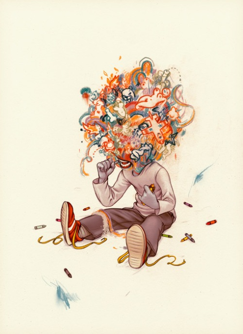 James Jean crayoneater