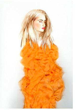 john galliano fashion illustration. Adriana Munoz an illustrator